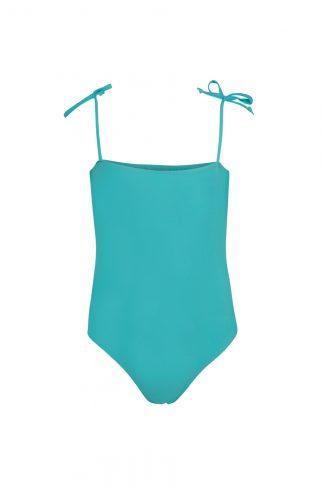 Bañador Carmen Azul Capri delante