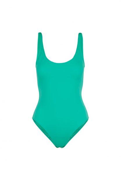 Bañador Charlotte Verde Loro delante