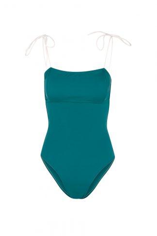 Bañador Diana Verde pato delante