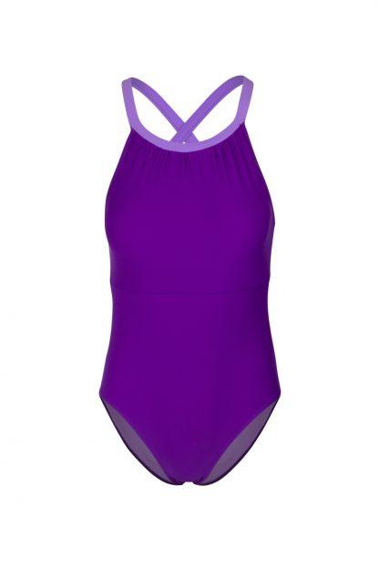 Bañador Sara Púrpura delante